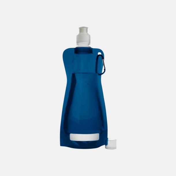 Marinblå Reklamvattenflaska med egen logga