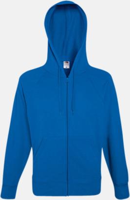 Royal Blue Hoodies med reklamtryck