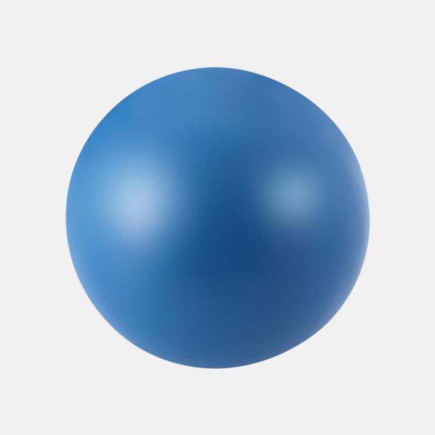 Blå Trycka stressbollar - Stressbollar med tryck