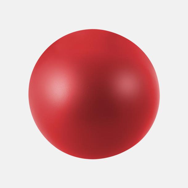 Röd Trycka stressbollar - Stressbollar med tryck