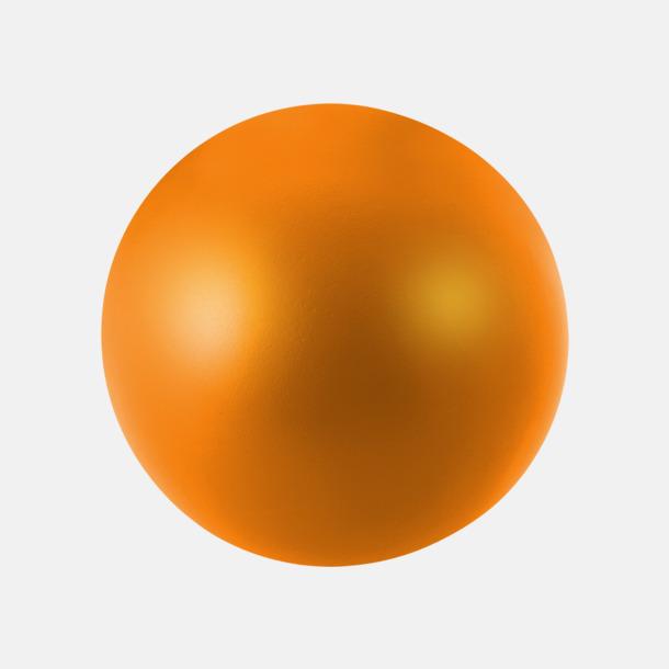Orange Trycka stressbollar - Stressbollar med tryck