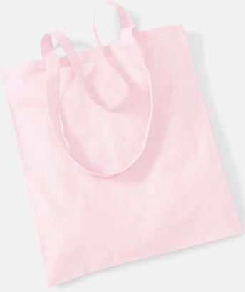 Pastel Pink Tygkasse med tryck