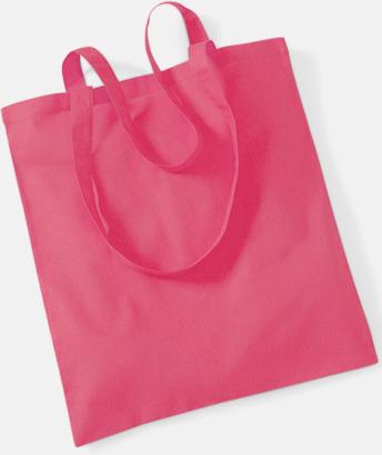 Raspberry Pink Tygkasse med tryck