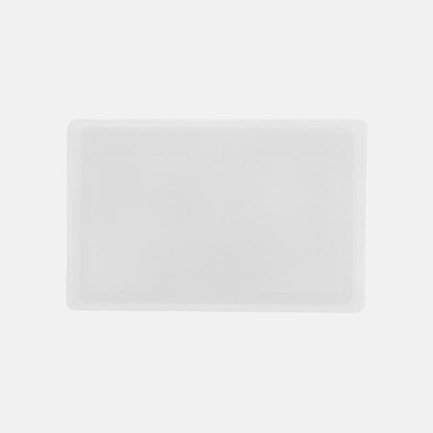 Transparent Kortformade förstoringslinser med reklamtryck