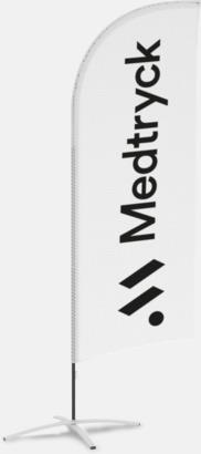 Mesh-tyg Beachflaggor med eget reklamtryck