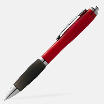 Röd/Svart Bläckpennor med egen logga