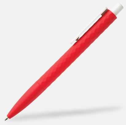 Röd / Vit Unika bläckpennor med reklamtryck