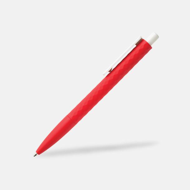 Röd/Vit Unika bläckpennor med reklamtryck