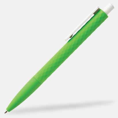 Grön / Vit Unika bläckpennor med reklamtryck