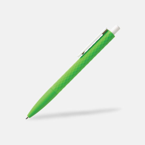 Grön/Vit Unika bläckpennor med reklamtryck