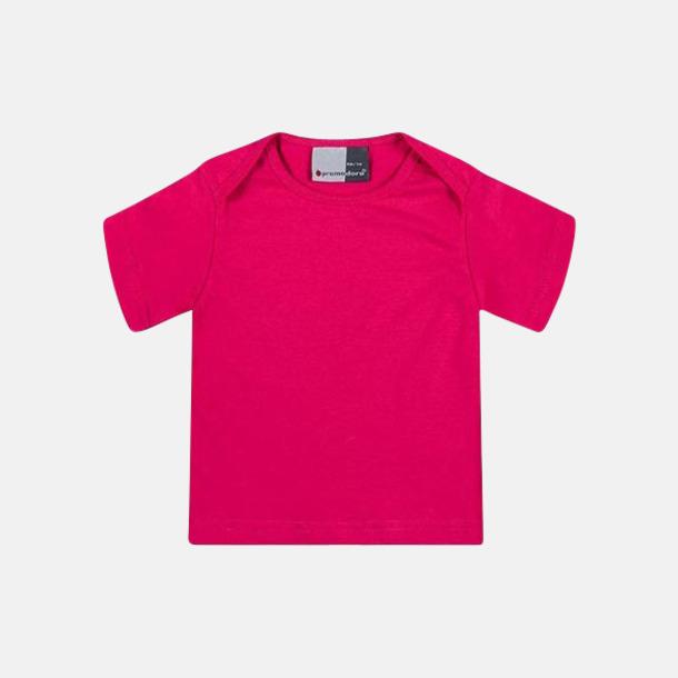 Bright Rose T-shirts för de minsta barnen - med tryck
