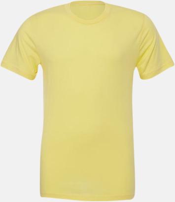 Heather Yellow T-shirts för herr och dam - med reklamtryck