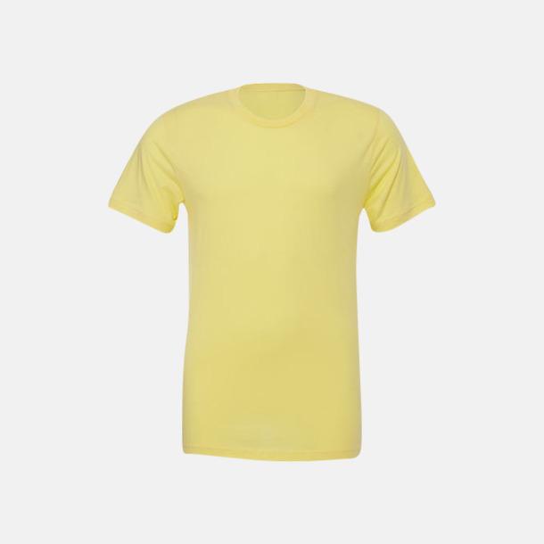 Heather Yellow Gold T-shirts för herr och dam - med reklamtryck