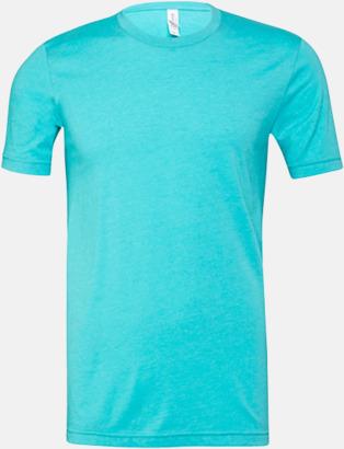 Heather Sea Green T-shirts för herr och dam - med reklamtryck