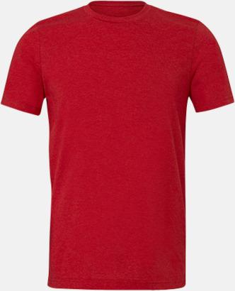 Heather Red T-shirts för herr och dam - med reklamtryck