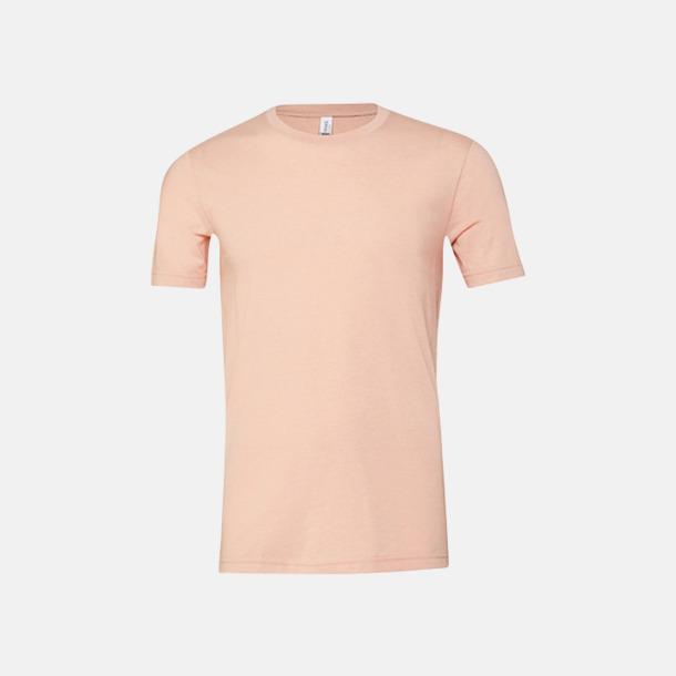 Heather Peach T-shirts för herr och dam - med reklamtryck