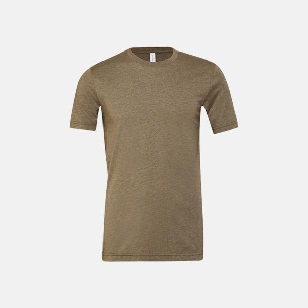 Heather Olive T-shirts för herr och dam - med reklamtryck