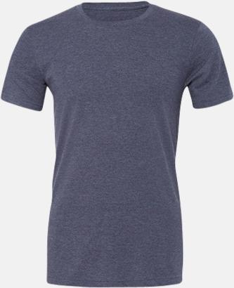 Heather Navy T-shirts för herr och dam - med reklamtryck