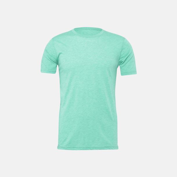 Heather Mint T-shirts för herr och dam - med reklamtryck