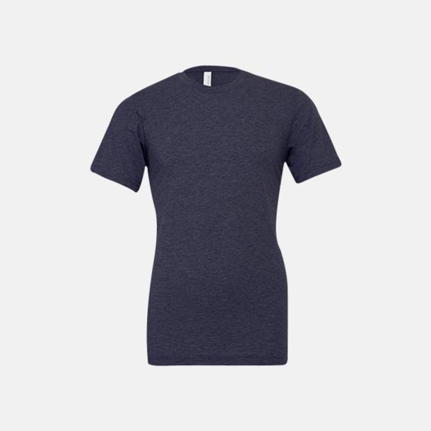 Heather Midnight Navy T-shirts för herr och dam - med reklamtryck