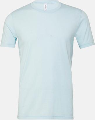 Heather Ice Blue T-shirts för herr och dam - med reklamtryck