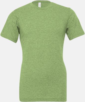 Heather Green T-shirts för herr och dam - med reklamtryck