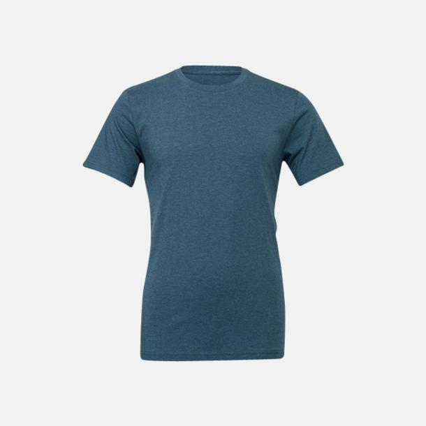 Heather Deep Teal T-shirts för herr och dam - med reklamtryck