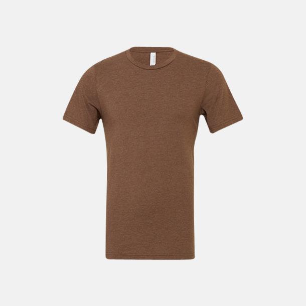 Heather Brown T-shirts för herr och dam - med reklamtryck