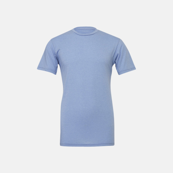 Heather Blue T-shirts för herr och dam - med reklamtryck