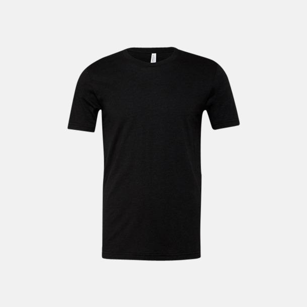 Heather Black T-shirts för herr och dam - med reklamtryck