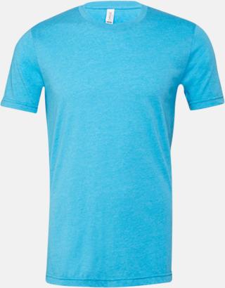 Heather Aqua T-shirts för herr och dam - med reklamtryck