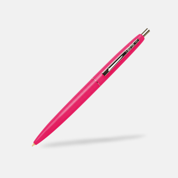 Pink Fizz Ekologiska bläckpennor från Bic med reklamtryck
