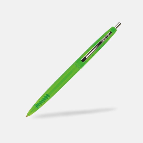 Clear Green Ekologiska bläckpennor från Bic med reklamtryck