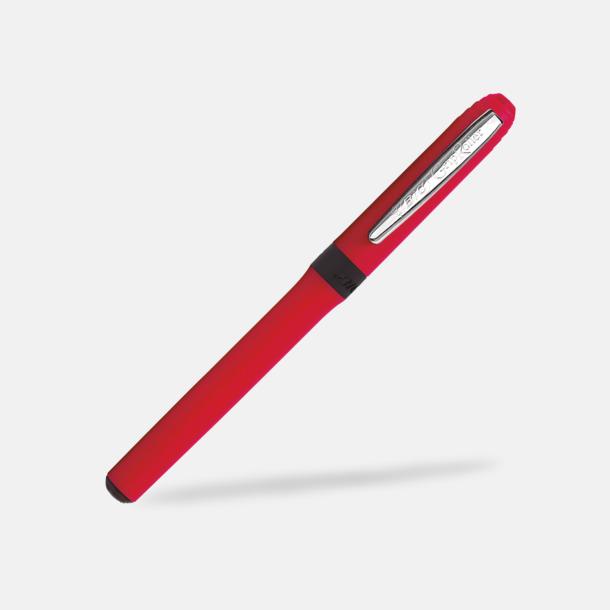 Röd / Silver Rollberball pan med eget tryck