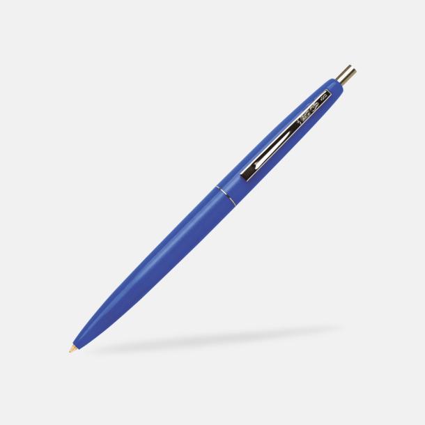 Blå Ekologiska bläckpennor från Bic med reklamtryck