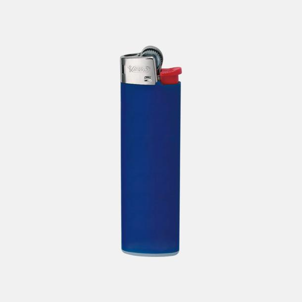 Mörkblå Tändare från BIC med reklamtryck