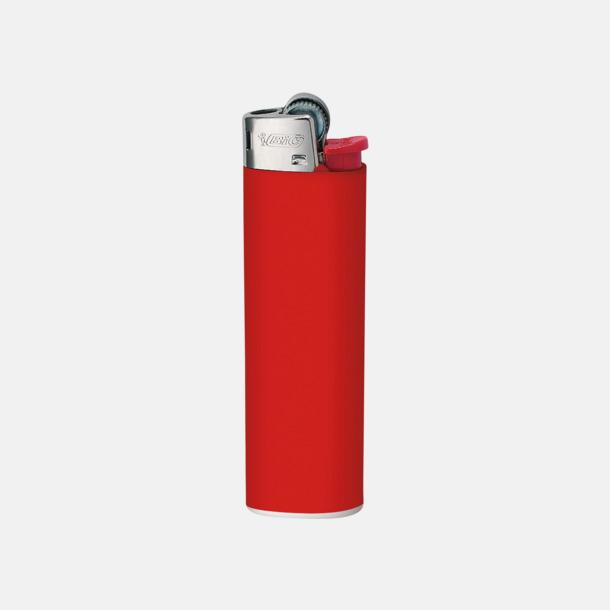 Röd Tändare från BIC med reklamtryck