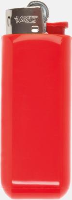 Röd Fodral med klips för tändare från BIC med reklamtryck