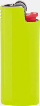 Acid Yellow Fina fodral för tändare från BIC med reklamtryck