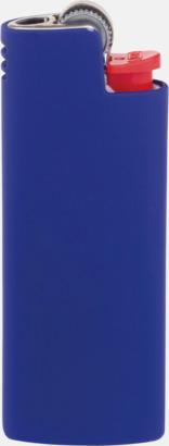Mörkblå Fina fodral för tändare från BIC med reklamtryck