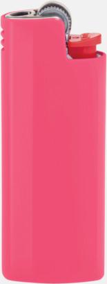 Pink Fizz Fina fodral för tändare från BIC med reklamtryck