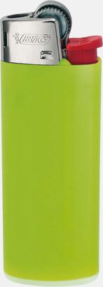 Apple Green Bics populära tändare med reklamtryck