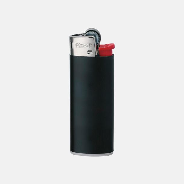 Svart / Röd Bics populära tändare med reklamtryck