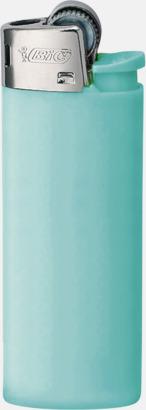 Blue Pastel Bics populära tändare med reklamtryck