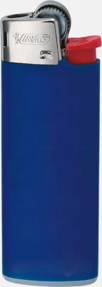 Mörkblå Bics populära tändare med reklamtryck