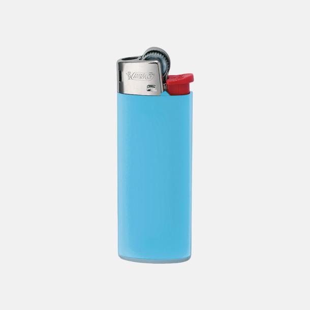Ljusblå Bics populära tändare med reklamtryck