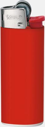 Röd Bics populära tändare med reklamtryck
