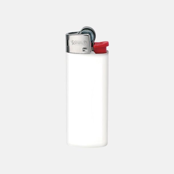 Vit Bics populära tändare med reklamtryck