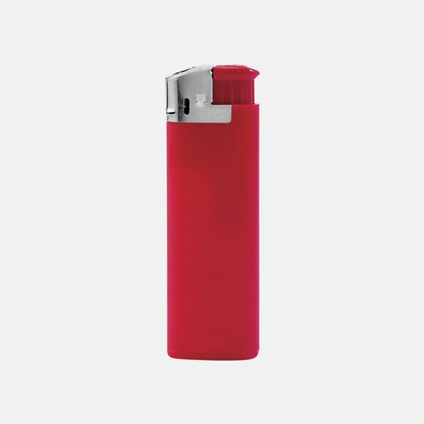 Röd BICs elektroniska tändare med reklamtryck