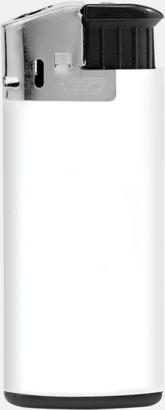 Vit (Opak)/Svart/Svart Minitändare från BIC med reklamtryck